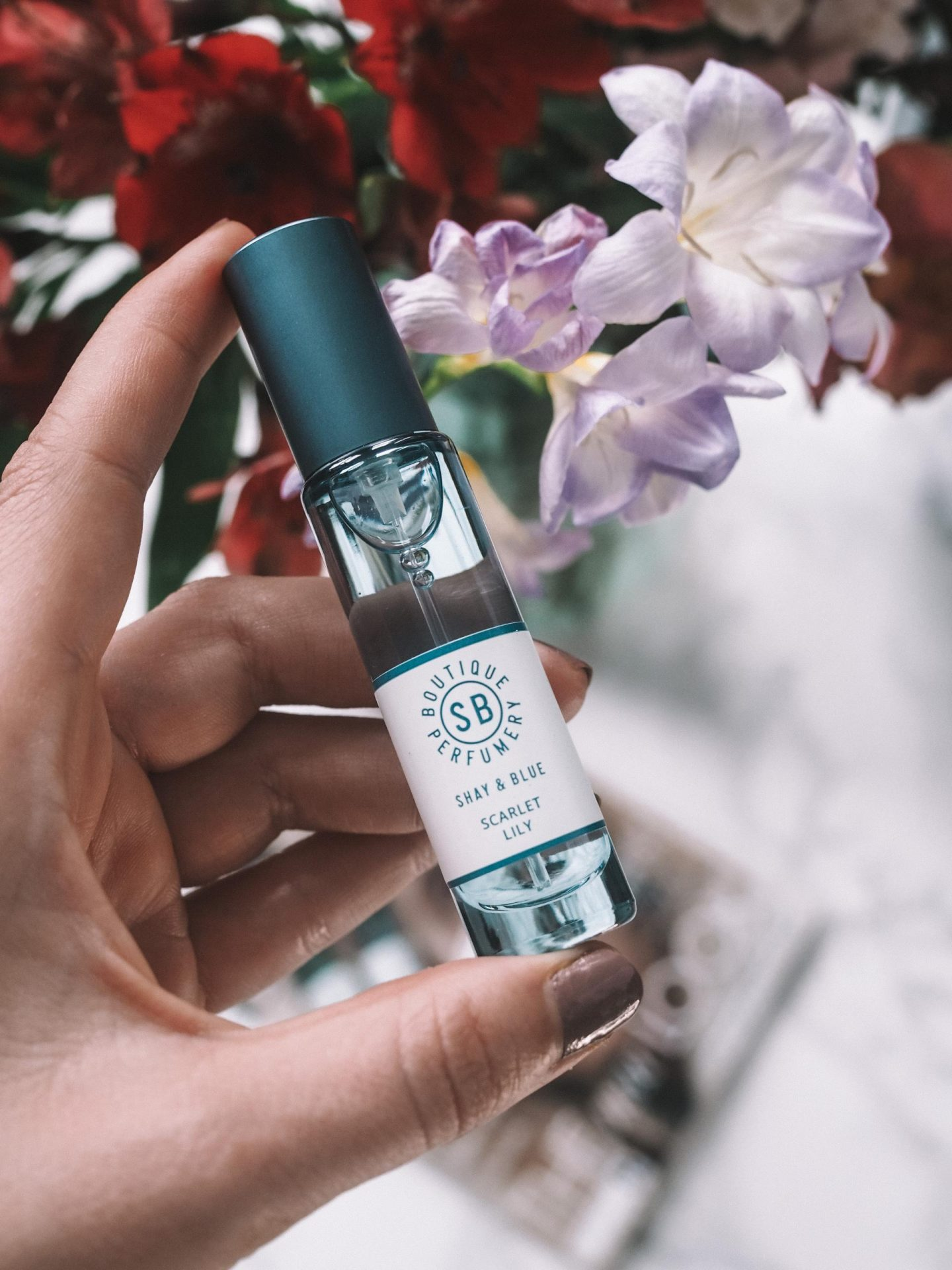 Shay & Blue Scarlet Lily perfume