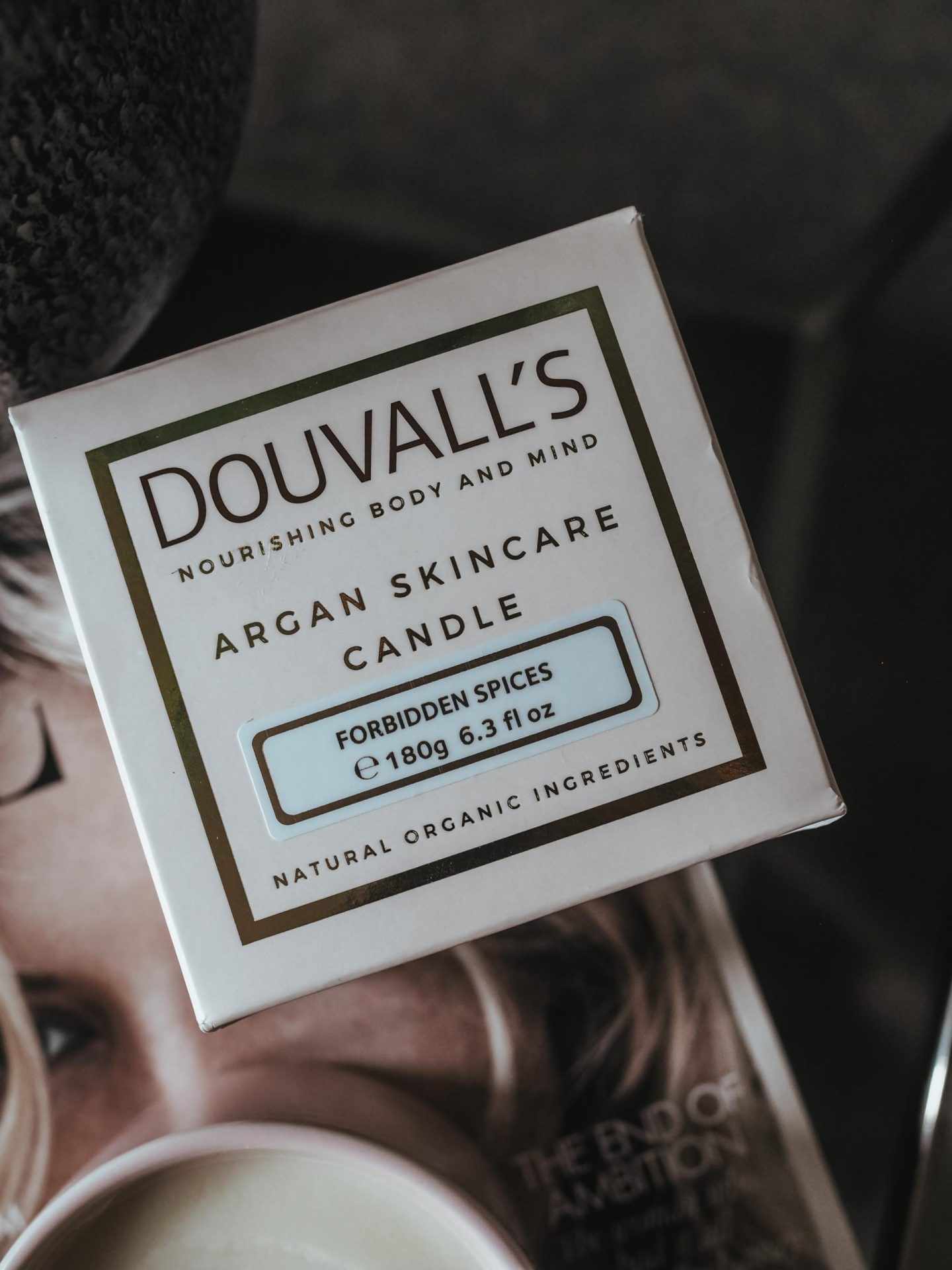 Douvall's Argan Skincare Candle