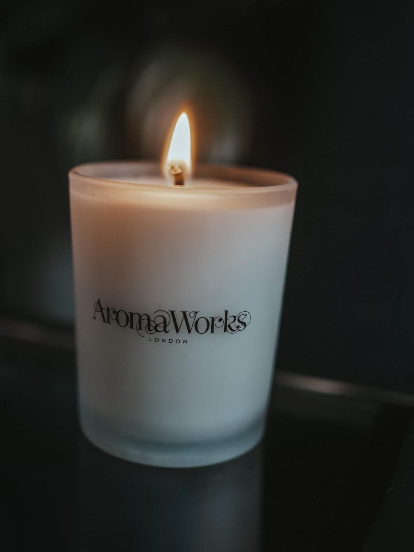 AromaWorks Petitgrain & Lavender Candle